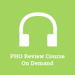 PHO Review Course On Demand, 2019 Edition